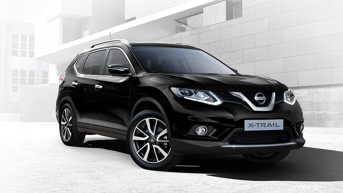 nissan x trail 4x4 suv 7 seater car nissan. Black Bedroom Furniture Sets. Home Design Ideas