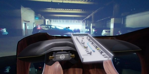 Nissan IV2 Simulator shot unveiled at CES in Las Vegas Nevada