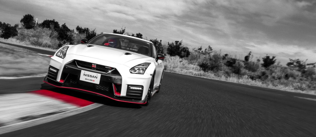 GT-R NISMO on race track