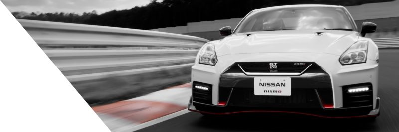 Nissan GT-R NISMO on race track