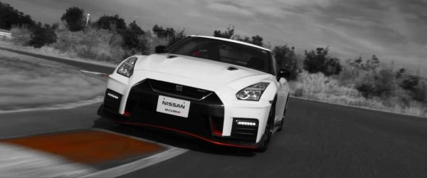 Nissan GT-R NISMO on track