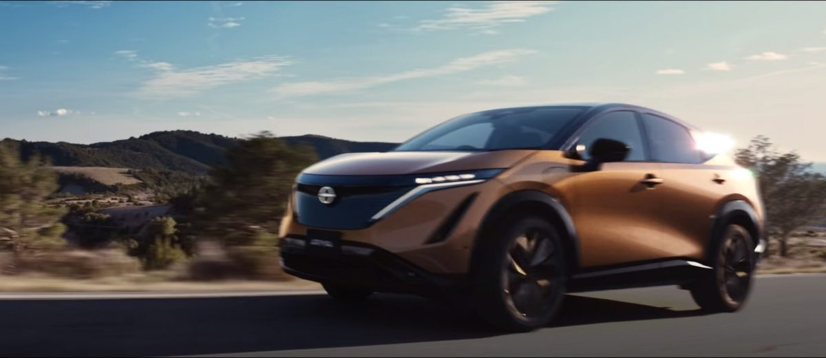Video of Nissan Ariya, the next generation of electric vehicles