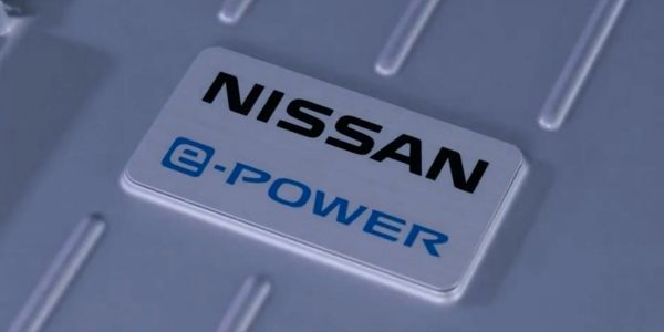 Nissan Note e-POWER engine badge