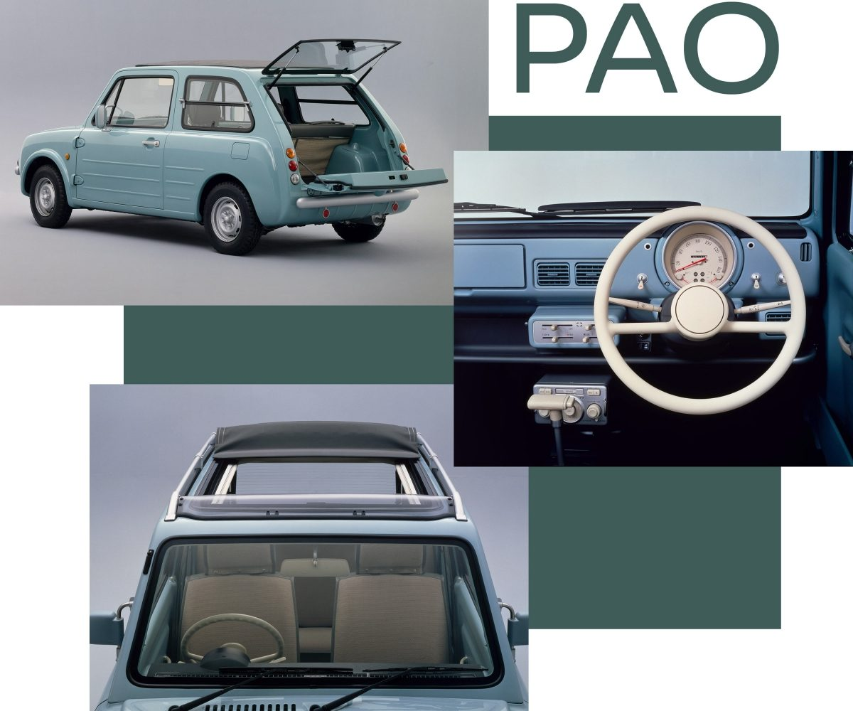 Nissan Pao 3 door hatchback Pike cars