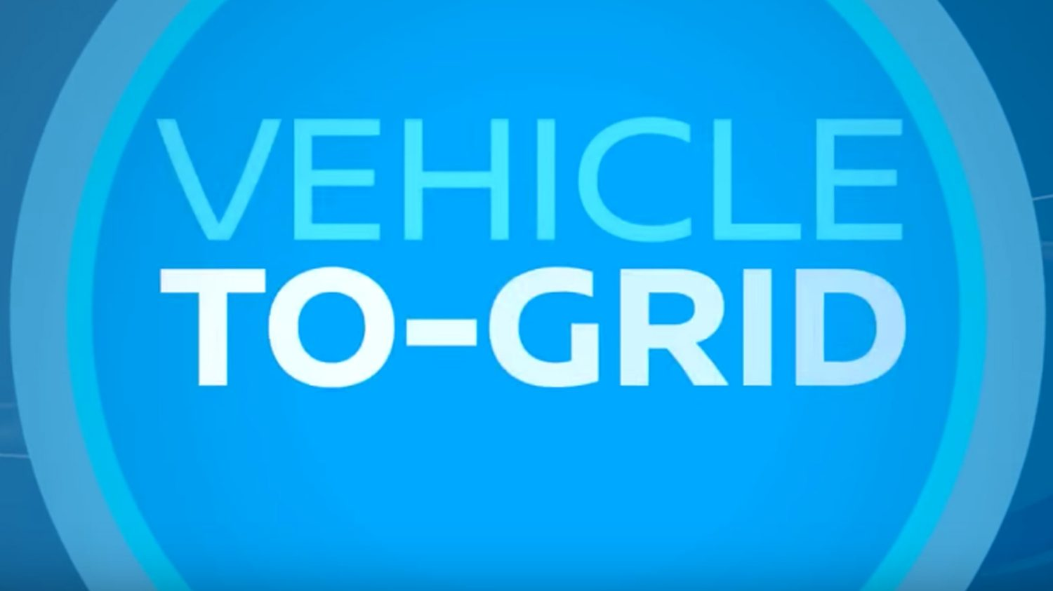 Nissan vehicle-to-grid video