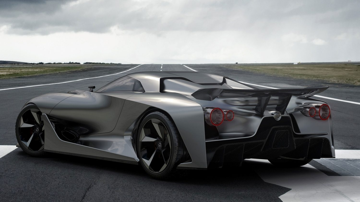 Experience Nissan - Concept car - 2020 Vision Gran Turismo - 3/4 rear view