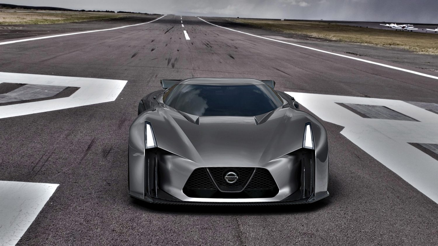 Experience Nissan – Konceptbil – 2020 Vision Gran Turismo – Set forfra