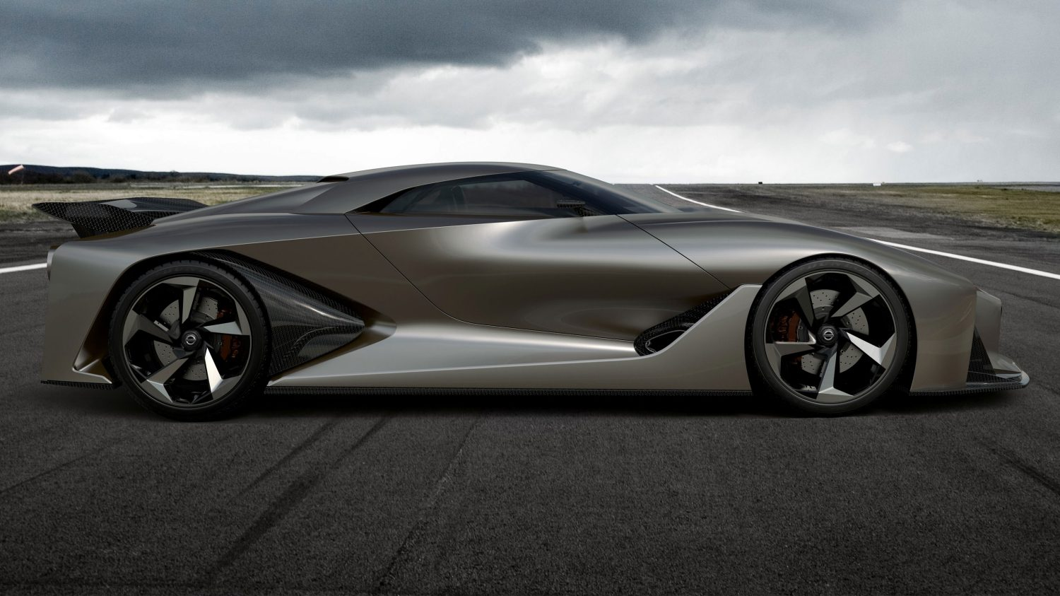 Nissan Concept 2020 Vision Gran Turismo. Gallery low profile.