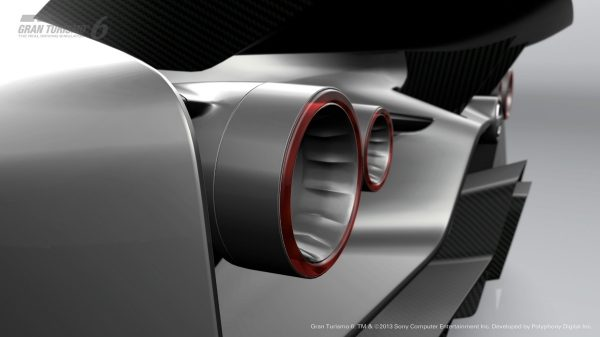 Nissan Concept 2020 Vision Gran Turismo taillights.