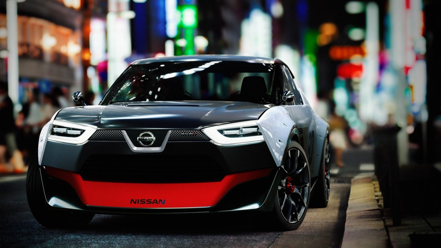 Nissan IDX NISMO Concept. Gallery front city street.