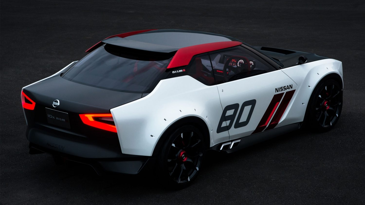 Experience Nissan - Concept car - IDx NISMO - 3/4 rear view
