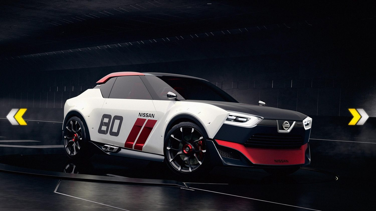 Nissan IDX NISMO Concept low side.