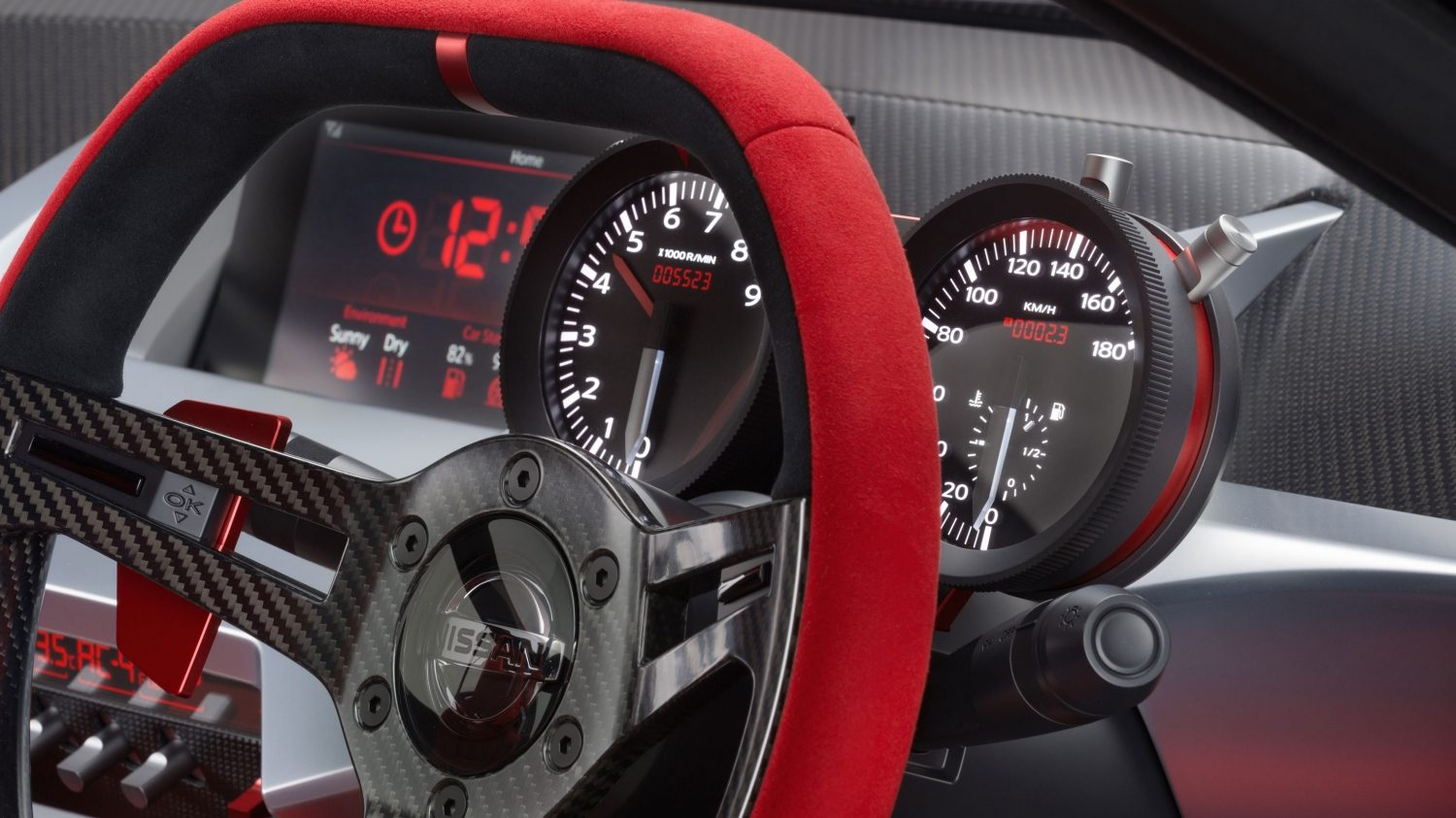 Nissan IDX NISMO Concept. Gallery gauges.