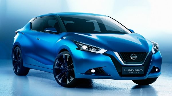 Nissan Lannia Concept. Gallery 3/4 front studio.