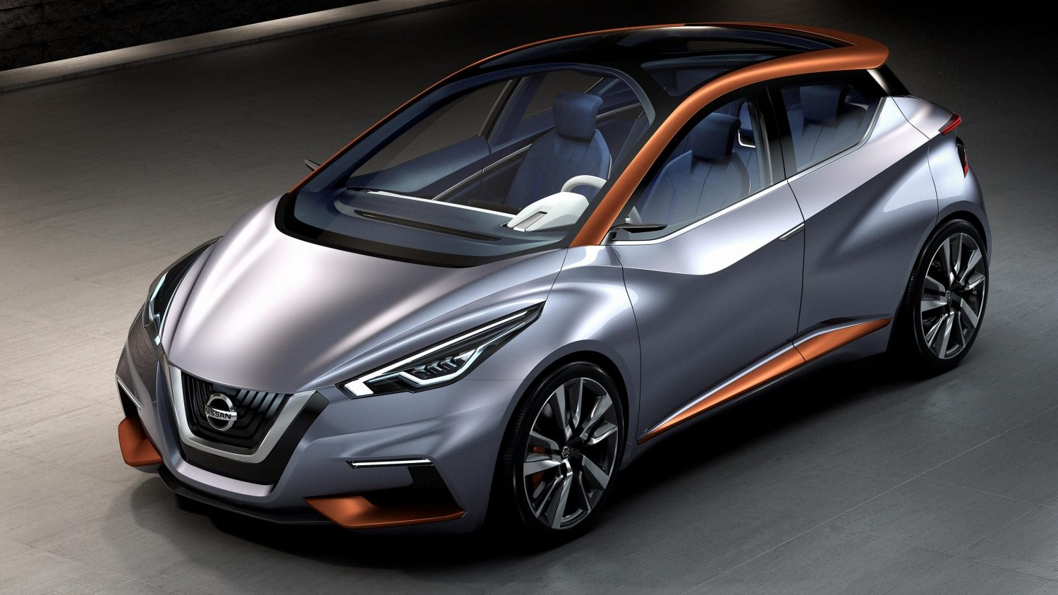 Nissan Sway Concept. Gallery High 3/4 studio.