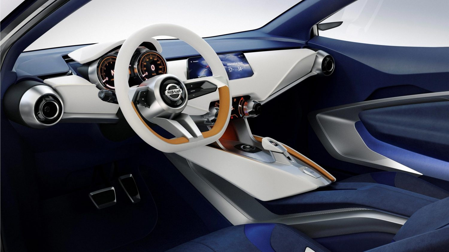 Experience Nissan - Concept car - Sway - interior view