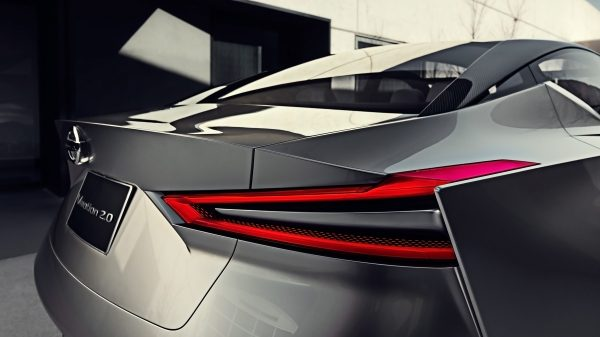 Nissan Vmotion 2.0 Concept taillight detail