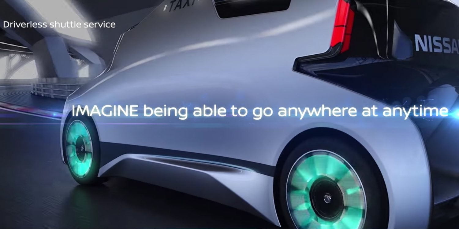 Nissan Intelligent Mobility wireless charging