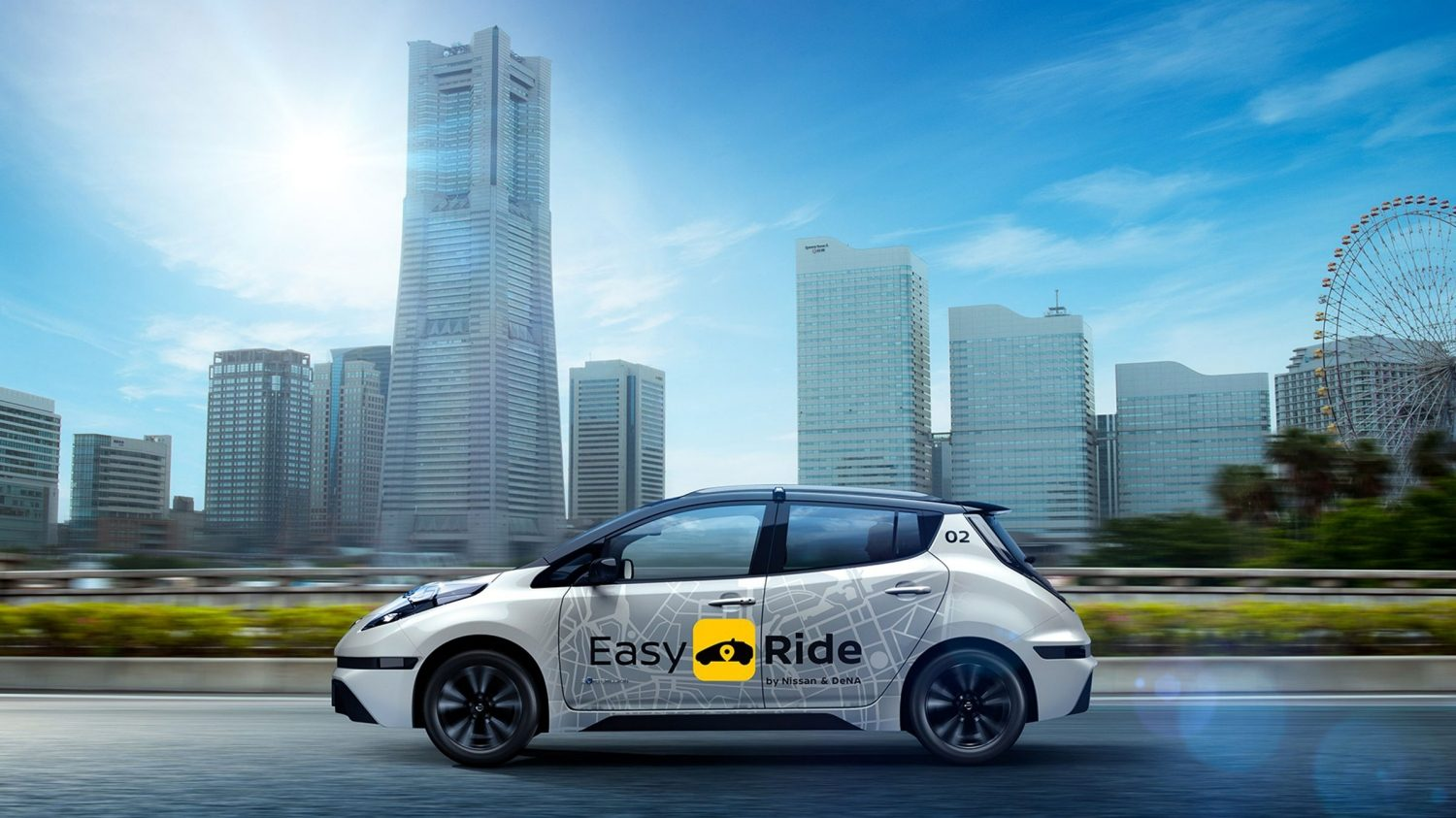 Nissan robo-vehicle Easy Ride