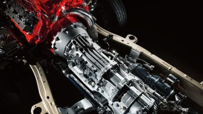 Nissan Titan XD Aisin 6-speed transmission.