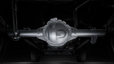 Nissan Titan XD axle and differential.
