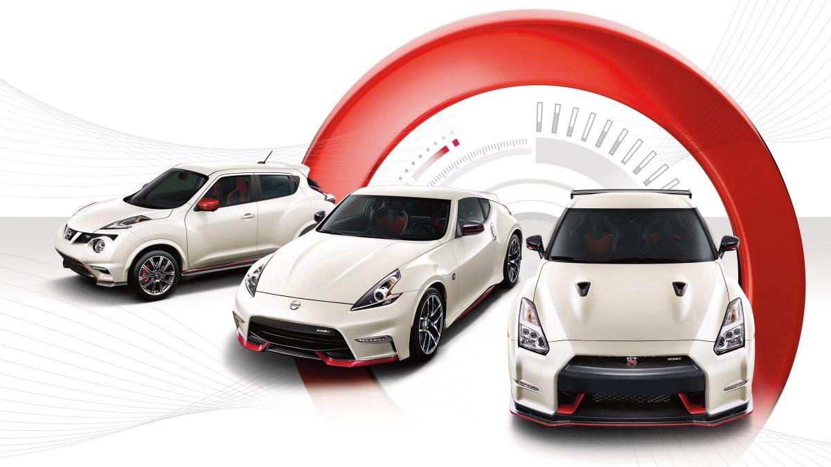 Мир Nissan— семейство NISMO: Модель JUKE, GT-R, 370Z.