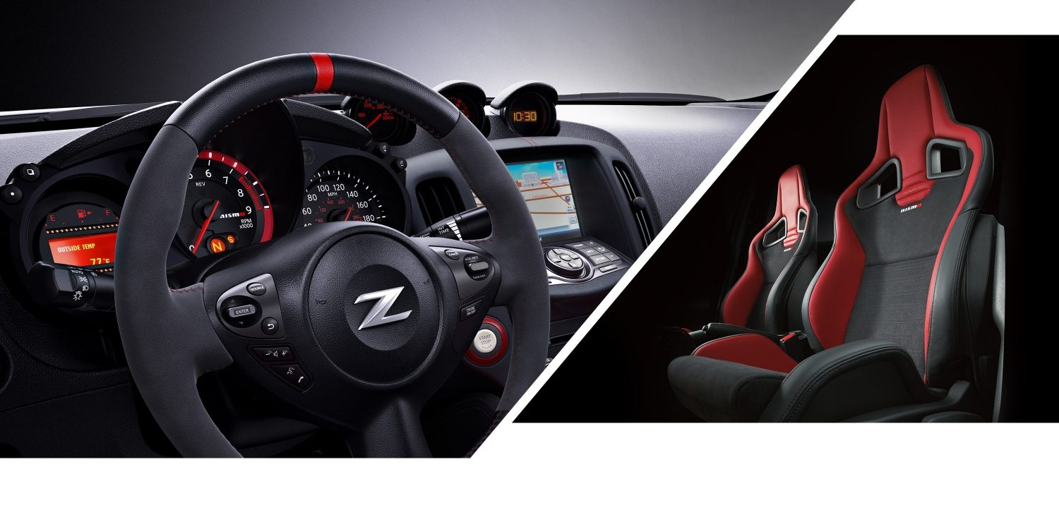 370Z NISMO Steering Wheel and GT-R NISMO Recaro Seats