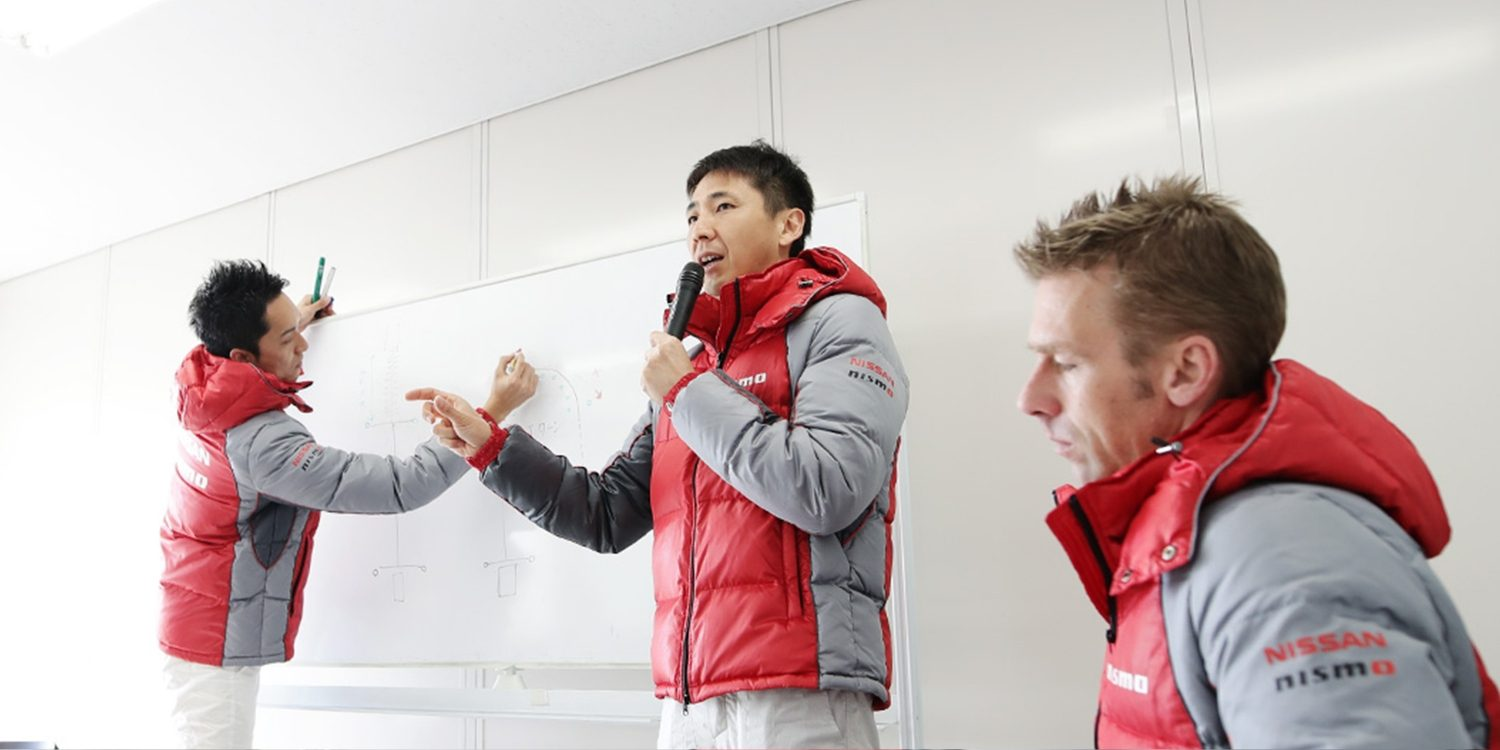 Instructores de NISMO Driving Academy