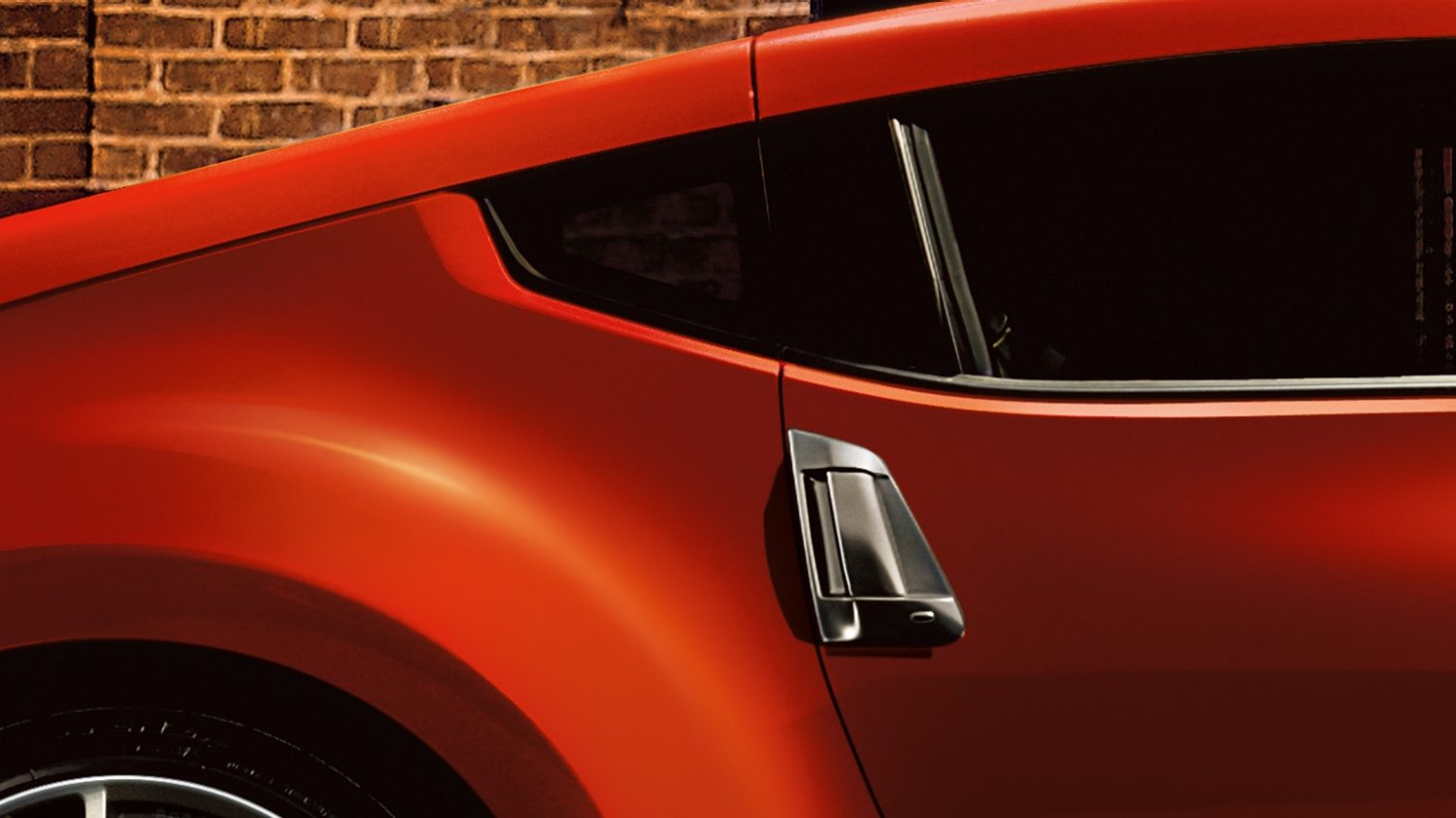 Nissan 370Z | Coupe | Up-swept rear quarter window