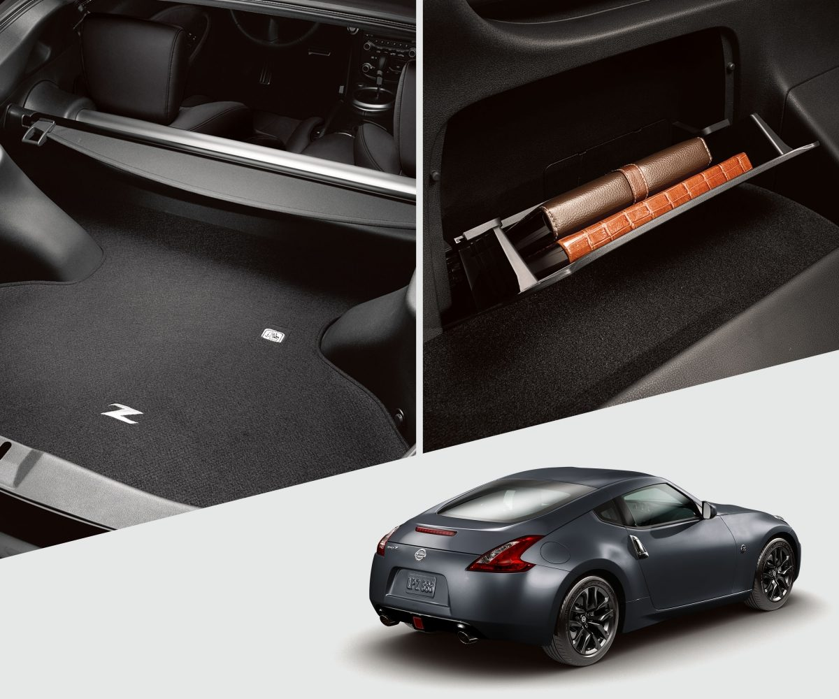 2018 Nissan 370z Features 2 Door Coupe Sports Car Engine Diagram Cargo Compartments