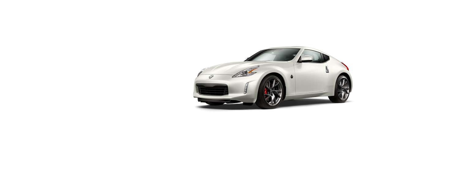 Nissan 370z coupe - Brilliant White