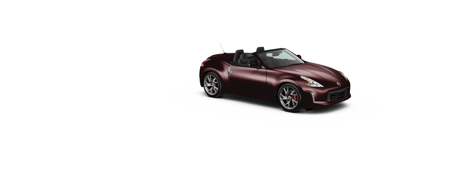 Nissan 370z Roadster - Black Rose
