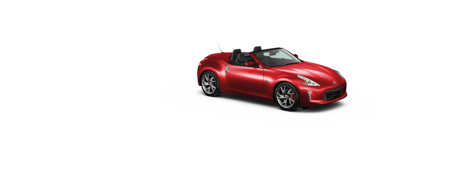 Nissan 370z Roadster - Magma Red