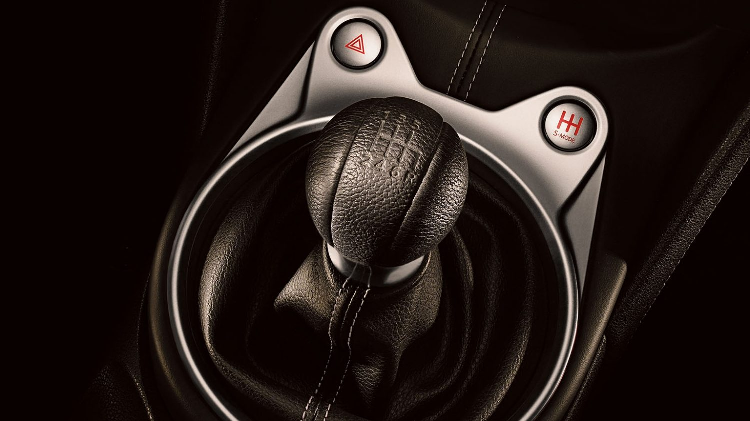 6-speed MT Shifter Detail
