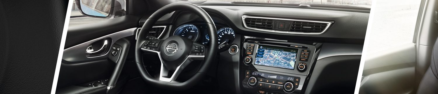 New Nissan QASHQAI steering wheel