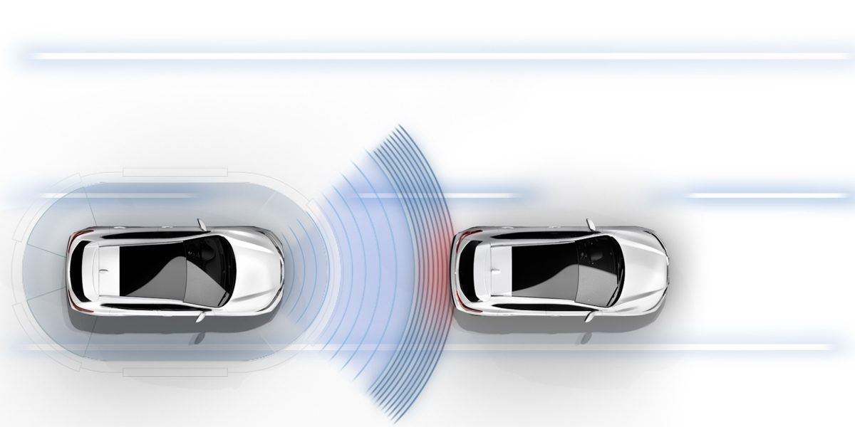 Nuovo Nissan QASHQAI - Nuovo sistema di frenata d'emergenza intelligente