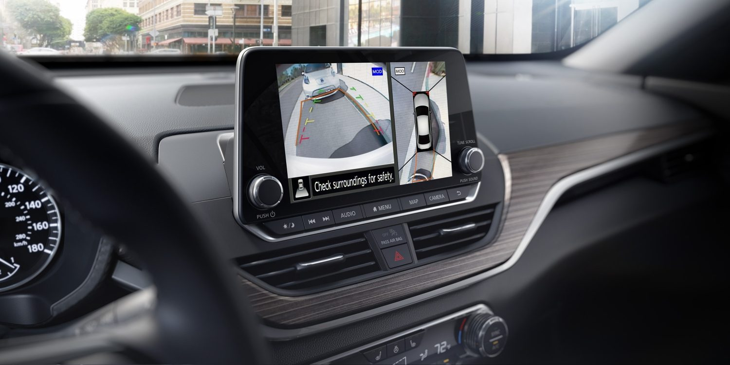 nissan Altima around view monitor