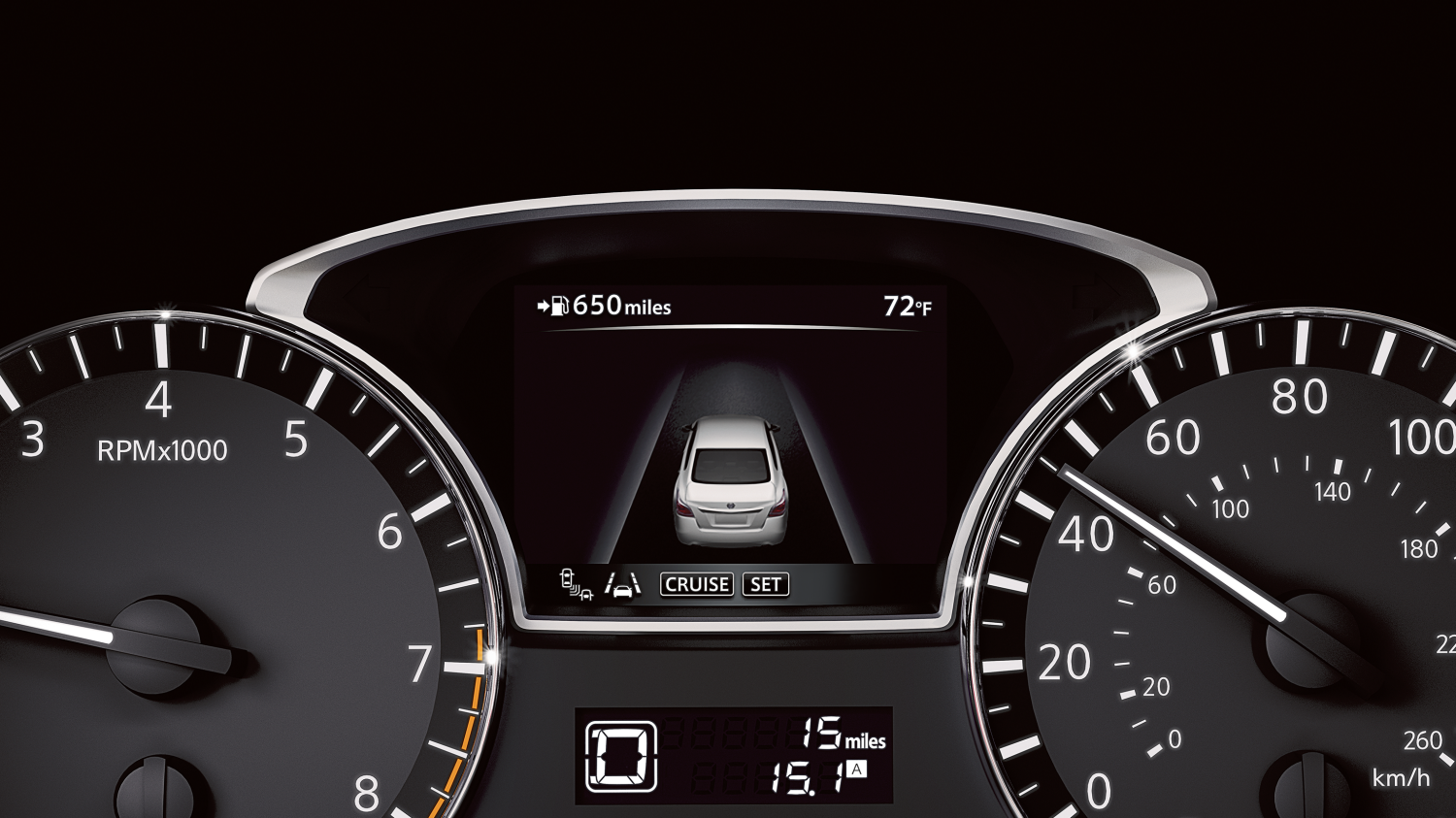 Advanced Drive- Assist® Display