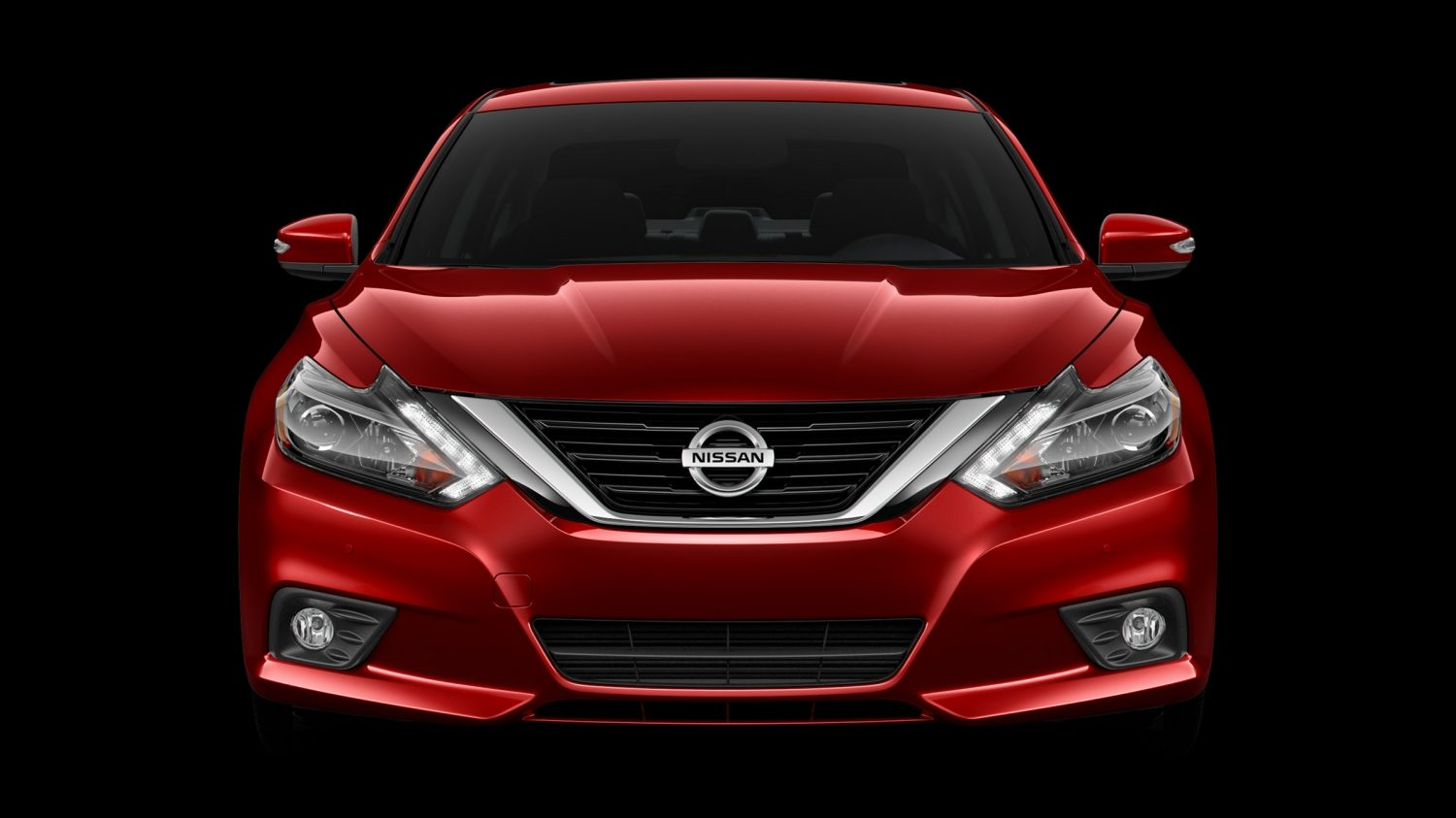 Nissan Altima shown from the front