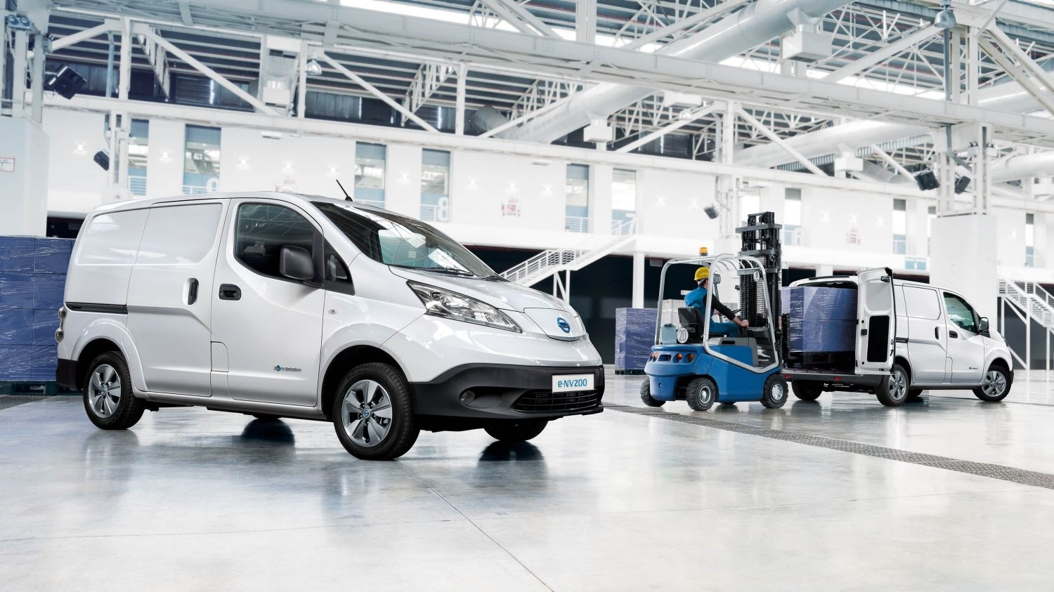 Van | Nissan e-NV200 | Electric van industry use