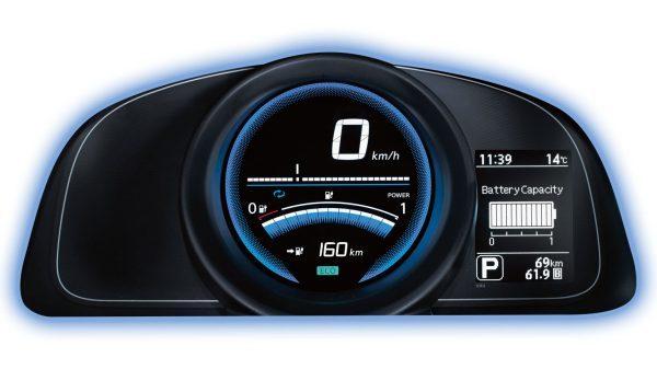 Nissan e-NV200 - Instrumentenpaneel