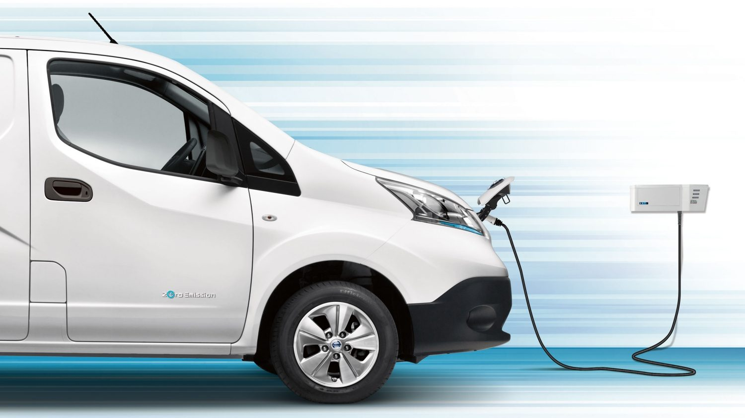 Nissan e-NV200 - Profile of the car plugged in