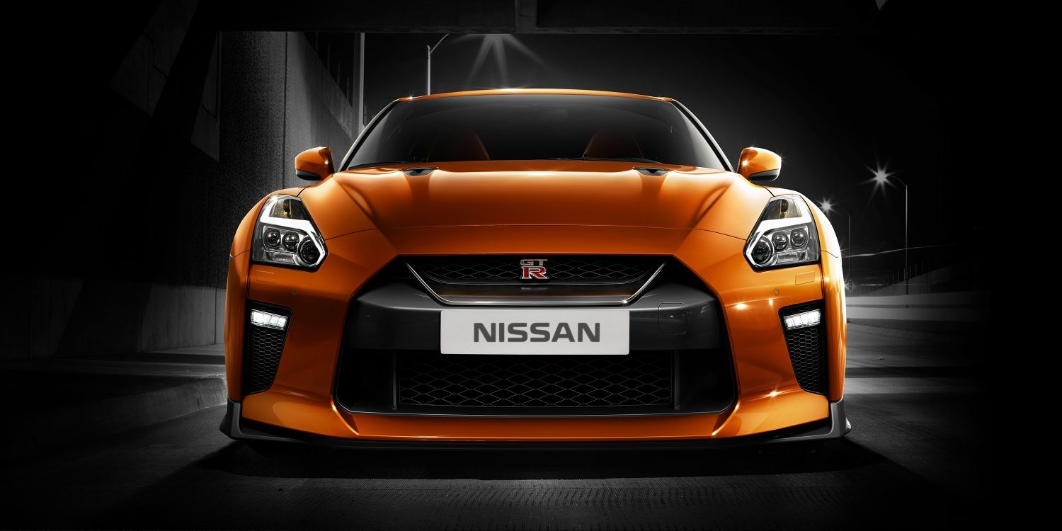 Nissan GT-R front fascia