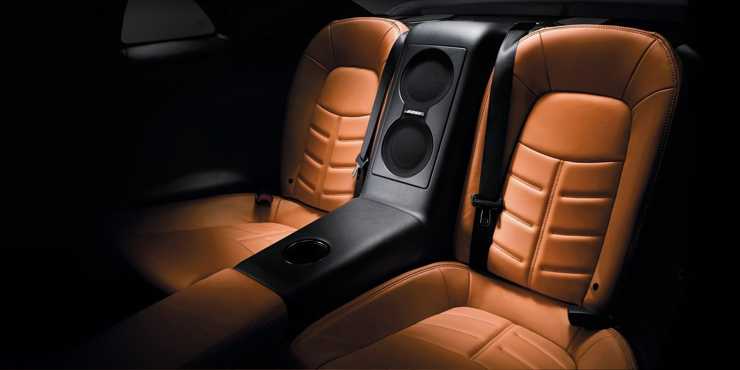 Nissan GT-R rear seats