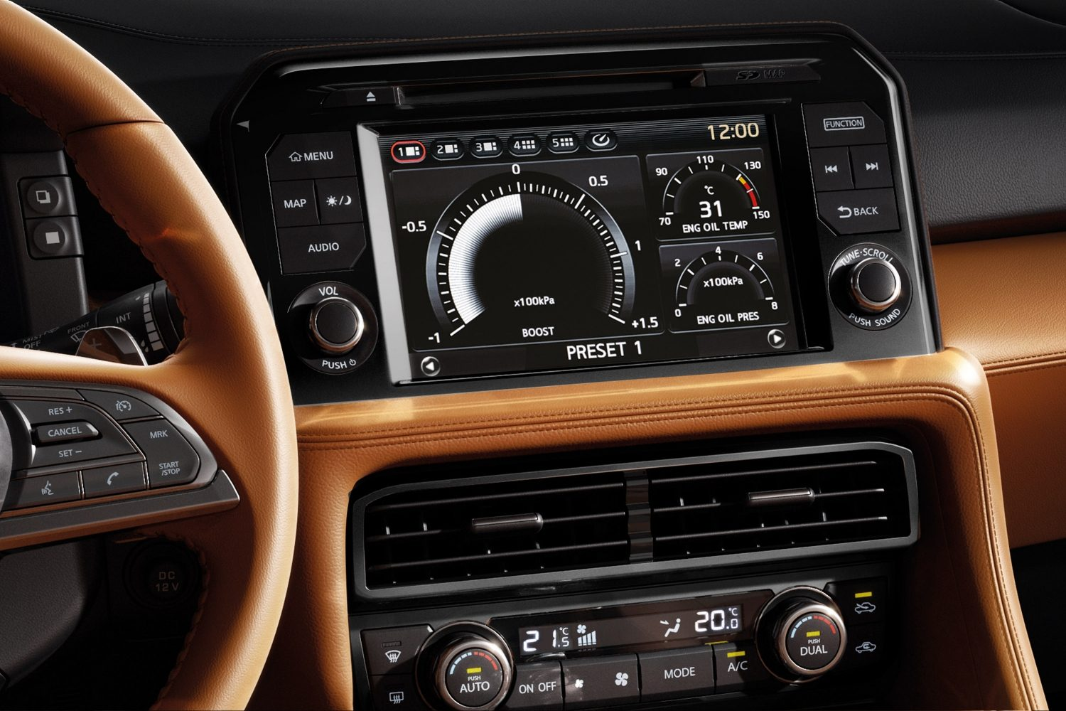 GTR Car Dashboard