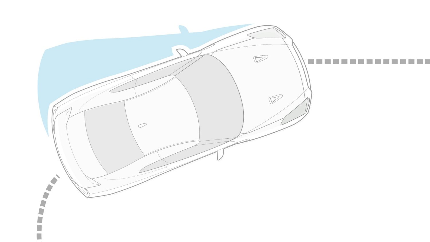 Nissan GT-R Vehicle Dynamic Control (VDC) illustration