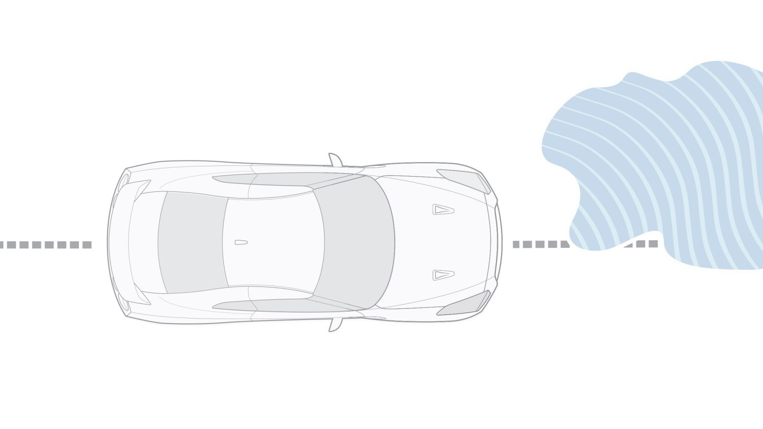 Nissan GT-R Traction Control System (TCS) illustration