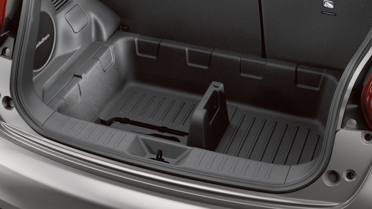 Additional storage in trunk