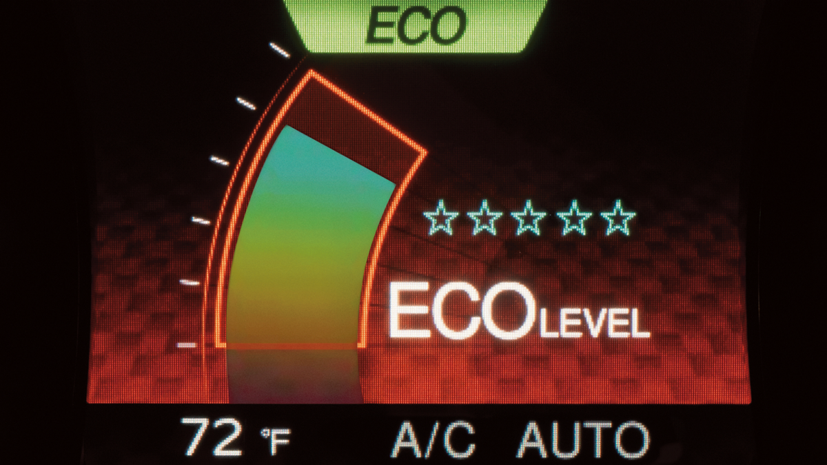 Nissan Dynamic Control System Eco Mode