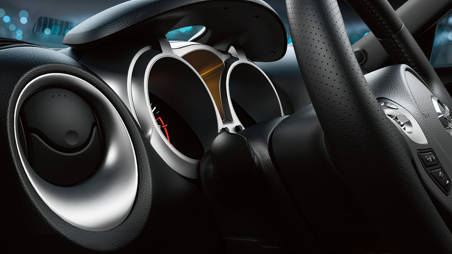 Nissan JUKE – Interiördesign – Instrument